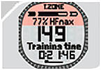 Пульсометр Sigma PC 25.10 - тренировочная зона